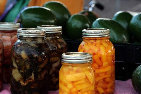Bring us your pickles. And jams, jellys, krauts, beers, and liqueurs. - SYNTHETICAPERTURE/FLICKR