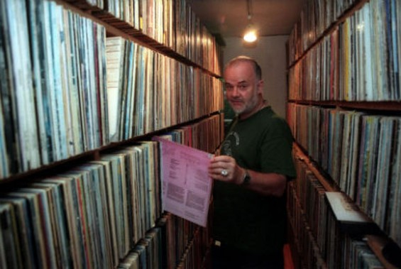 British Dj/demigod John Peel, whose sprawling record collection is slowly being put online. - DANGEROUS MINDS