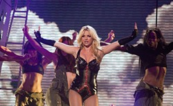 JOSEPH SCHELL - Britney brought quite a spectacle to S.F.