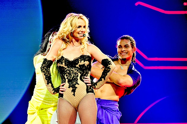 Britney Spears at the HP Pavilion