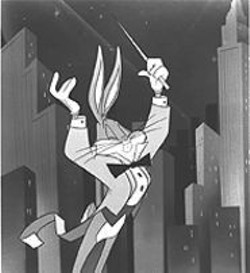 Broadway is no match for the rascally rabbit in George Daugherty's - Bugs Bunny on Broadway.