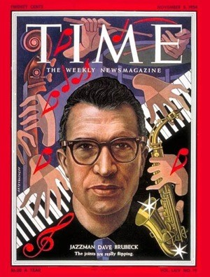 Brubeck was only the second jazzman to grace the cover of TIME, after Louis Armstrong