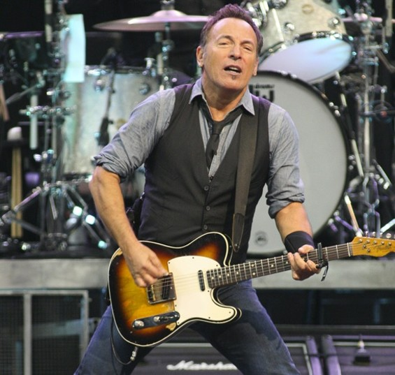 Bruce Springsteen at Oracle Arena - CHRISTOPHER VICTORIO