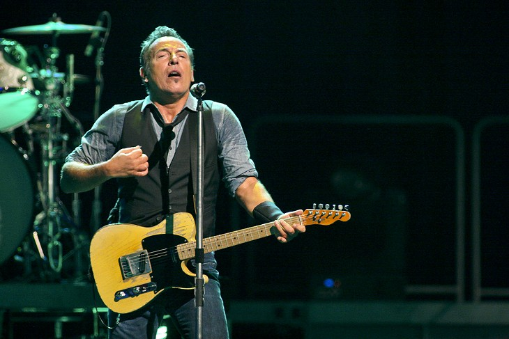 Bruce Springsteen at Oracle Arena