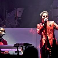 Bruno Mars and Janelle Monae at Bill Graham