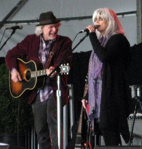 Buddy Miller and Emmylou Harris