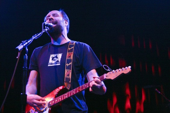 Built to Spill at the Fillmore last night - CHRISTOPHER VICTORIO
