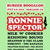 Burger Boogaloo Announces 2014 Lineup: Ronnie Spector, Milk 'N' Cookies, More