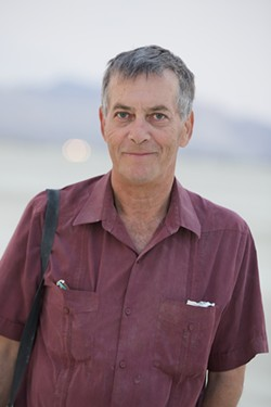SIDNEY ERTHAL - Burning Man co-founder and board chairman Larry Harvey, who wrote Burning Man's 10 Principles in 2004.