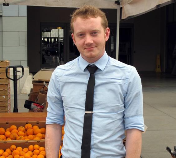 Burritt Room bar manager Liam Gilmore - LOU BUSTAMANTE