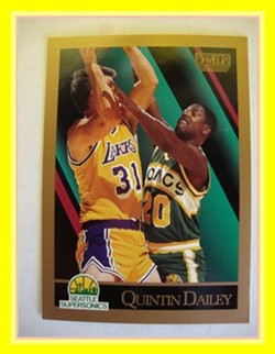 By 1990, Quintin Dailey openly pined for his basketball career to be over