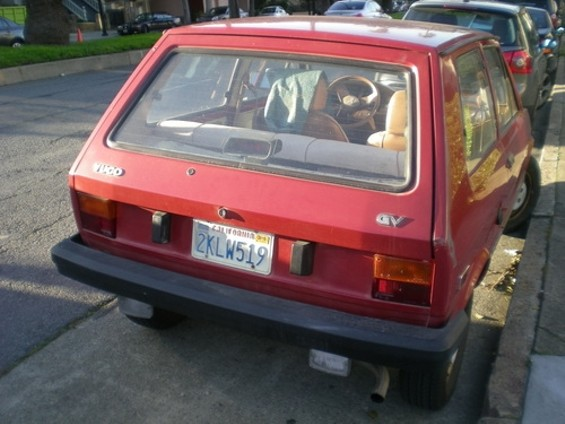 Bye for now, Yugo...