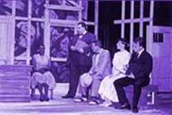 ROBERT  JONES - C. Kelly Wright, Richard Ryan, Tom Baxley, Sarah Rossell, and Jack Rucker in Ruby.