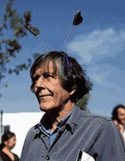 EVA  SOLTES - Cal Arts commencement speaker John Cage in the - documentary West Coast Story.