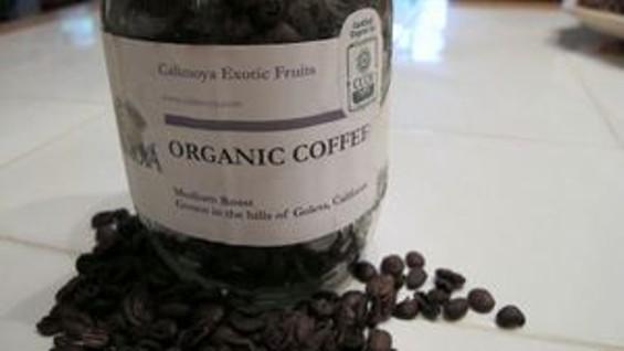 California coffee, at a premium. - MICHAEL HUTCHINGS