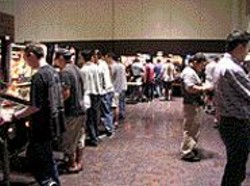 "MEG  LAUBER - California Extreme, the West Coast's - ""Classic Arcade Games Show."""