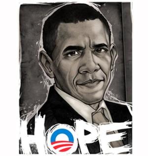 California ... where hope awaits Obama