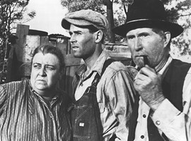 California's unemployment figures have gotten bad enough you are now allowed to mention the Joad family