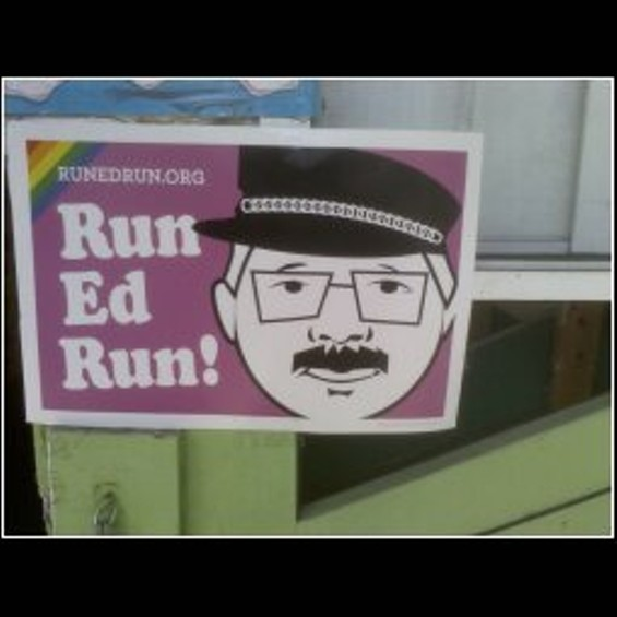 """Can Ed really pull off """"gay""""? - FRED EDWARDS"""