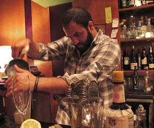 Cantina bar manager Shaher Misif - LOU BUSTAMANTE