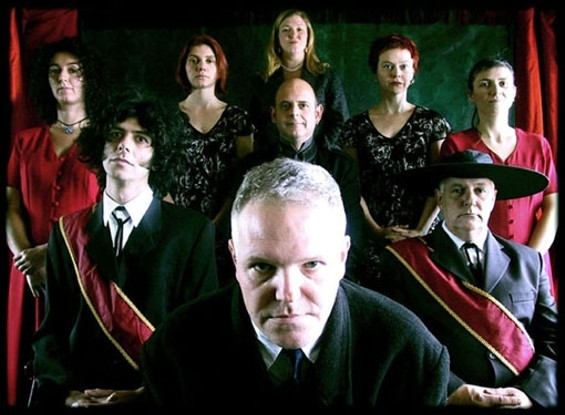 Cardiacs, with Tim Smith in front