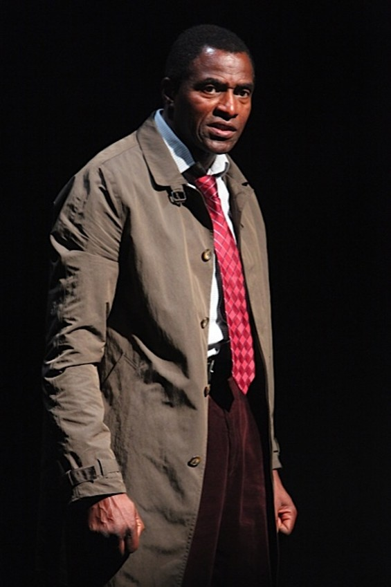 """Carl Lumbly in the first American production of Mark O'Rowe's """"Terminus"""" at Magic Theatre. - PHOTO: JENNIFER REILEY"""
