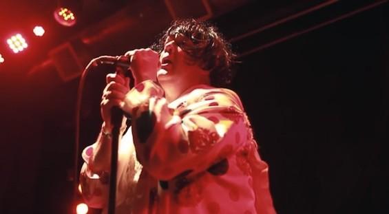 Carletta onstage