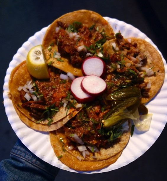 Carnitas tacos at El Autlense - FERRON SALNIKER