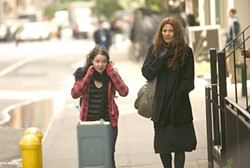 Catherine Keener's Kate (right) is meant to have soul, but there's nothing dreamy about her yearning.