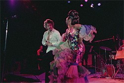 Celia Cruz and her sprawling, sexily raucous band steal the show.