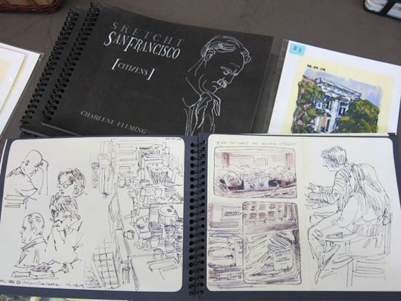 "Charlene Fleming's ""Sketcht San Francisco: Citizens"""