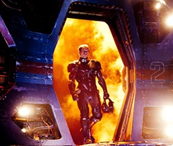Charlie Hunnam faces monsters, feelings in Pacific Rim.