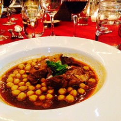 Chef Dominica Rice-Cisneros's lamb birria. - SAMANTHA GREENLEE