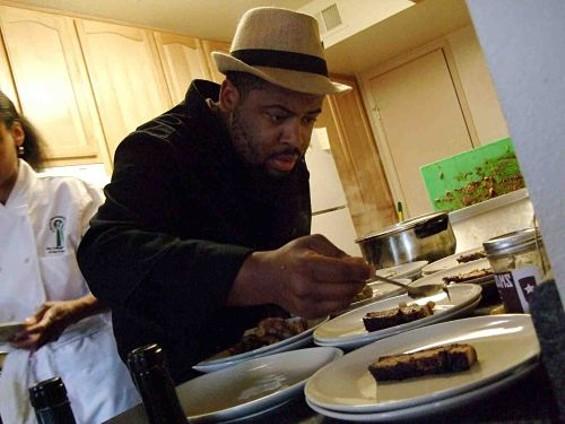 Chef Dontaye Ball. - TAMARA PALMER