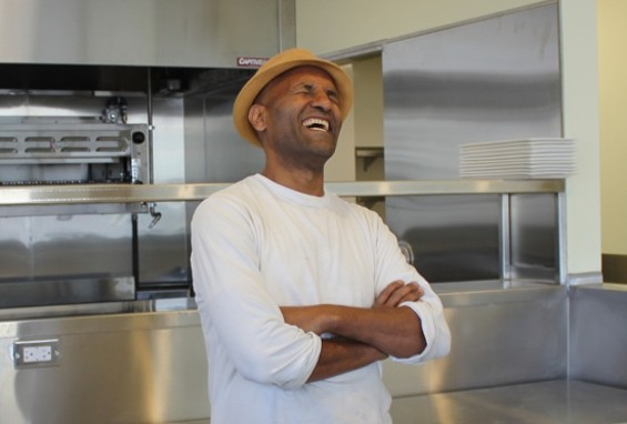 Chef Eskender Asged moved from Ethiopia to SF 25 years ago. - AMY F JOHNSON/AKFDESIGN