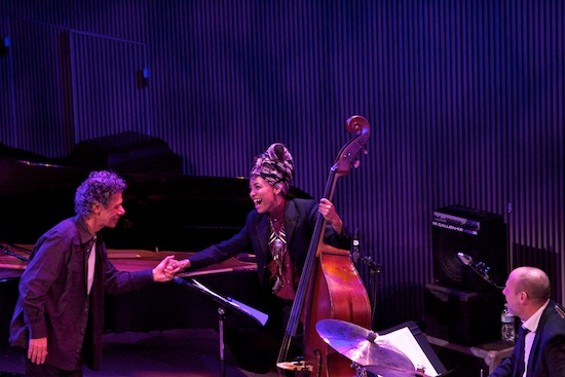 Chick Corea with Esperanza Spalding and Jeff Ballard - SCOTT CHERNIS FOR SFJAZZ