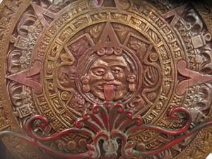 Chocolate Mayan calendar by local artisan the Xocolate Bar. - THEXOCOLATEBAR.COM