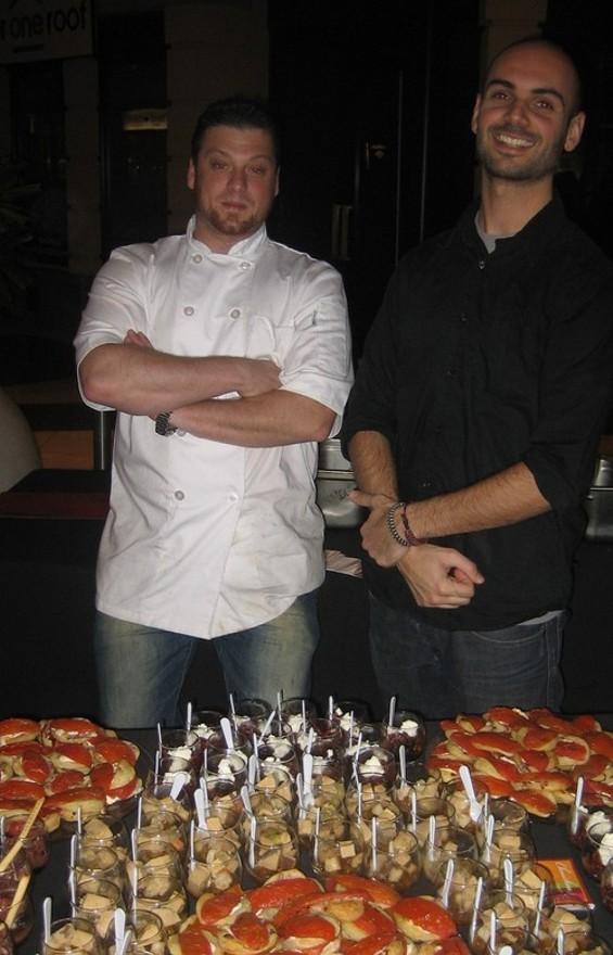 Chouchou's Nick Ronan (left). - M. LADD