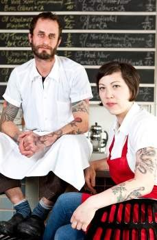 Chris Beerman and Cheryl Burr - AUBRIE PICK