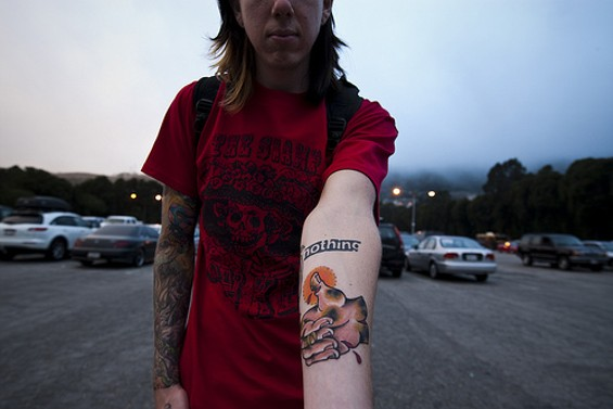 Chris Bryant's new tat inspires deep thoughts - ALL PHOTOS   |   DANIEL C. BRITT, USED WITH PERMISSION
