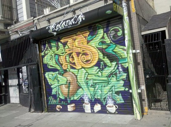 Christian Ciscle's Wing Wings is headed for the former Roland's Bagels space at Haight and Webster. - CAROLYN ALBURGER/SFOODIE