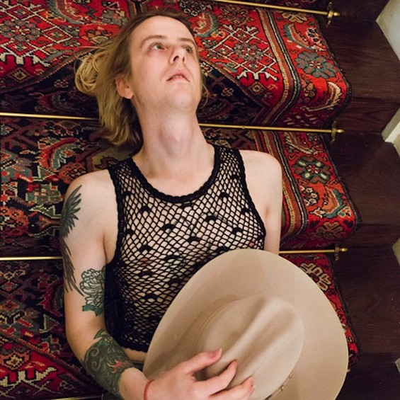Christopher Owens has a new song. This is his favorite staircase in the whole world.