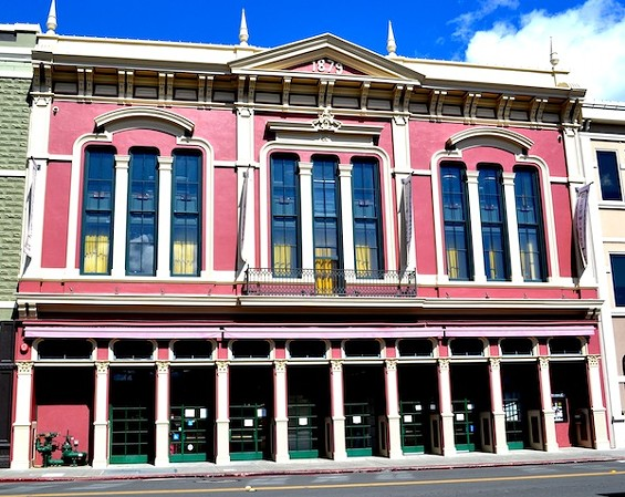 City Winery takes over the old opera house in the town of Napa. - CITY WINERY