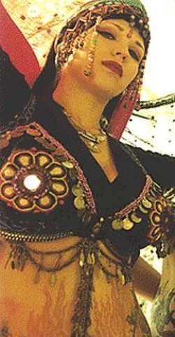 """CHRIS  TEIG - Clandestine Tribal Belly Dance adds to the - """"Mission Movie Magic."""""""