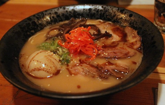 Classic Hakata Style Tonkotsu Ramen from Ken Ken Ramen - KATE WILLIAMS