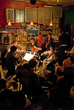 Classical Revolution takes Brahms to bars.