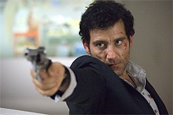 Clive Owen seems mildly aggrieved at having to play a character considerably less intelligent than himself in a movie that plays even dumber.