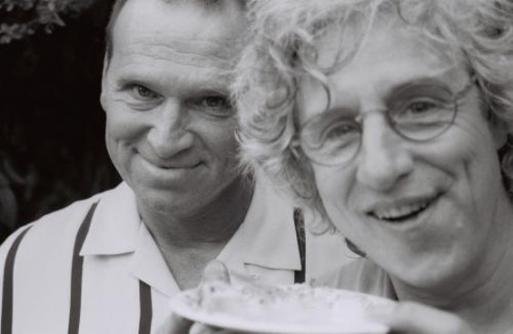 Co-editors R.J. Martin (left) and David Henry Sterry (right).