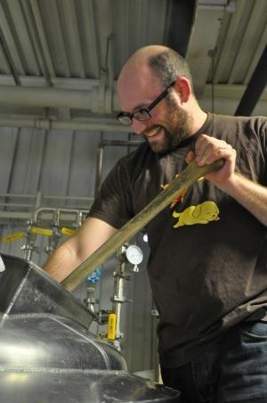 Co-founder Jesse Friedman at Almanac Beer Co. - ALMANAC BEER CO.