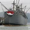Coast Guard Still Cleaning Oil Spill From World War II-Era Ship at Fisherman's Wharf